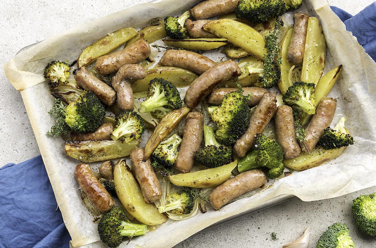 Luganega al forno con verdure
