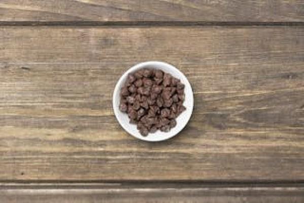 Gocce di cioccolato fondente