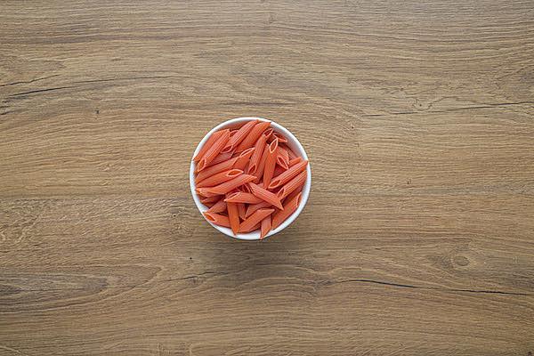 Penne di lenticchie rosse