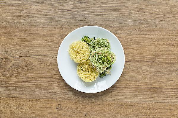 Spaghetti di broccoli