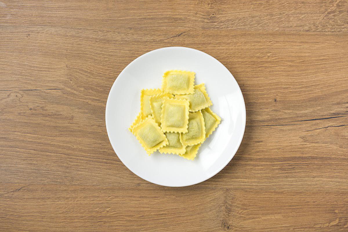 Raviolini ricotta e spinaci