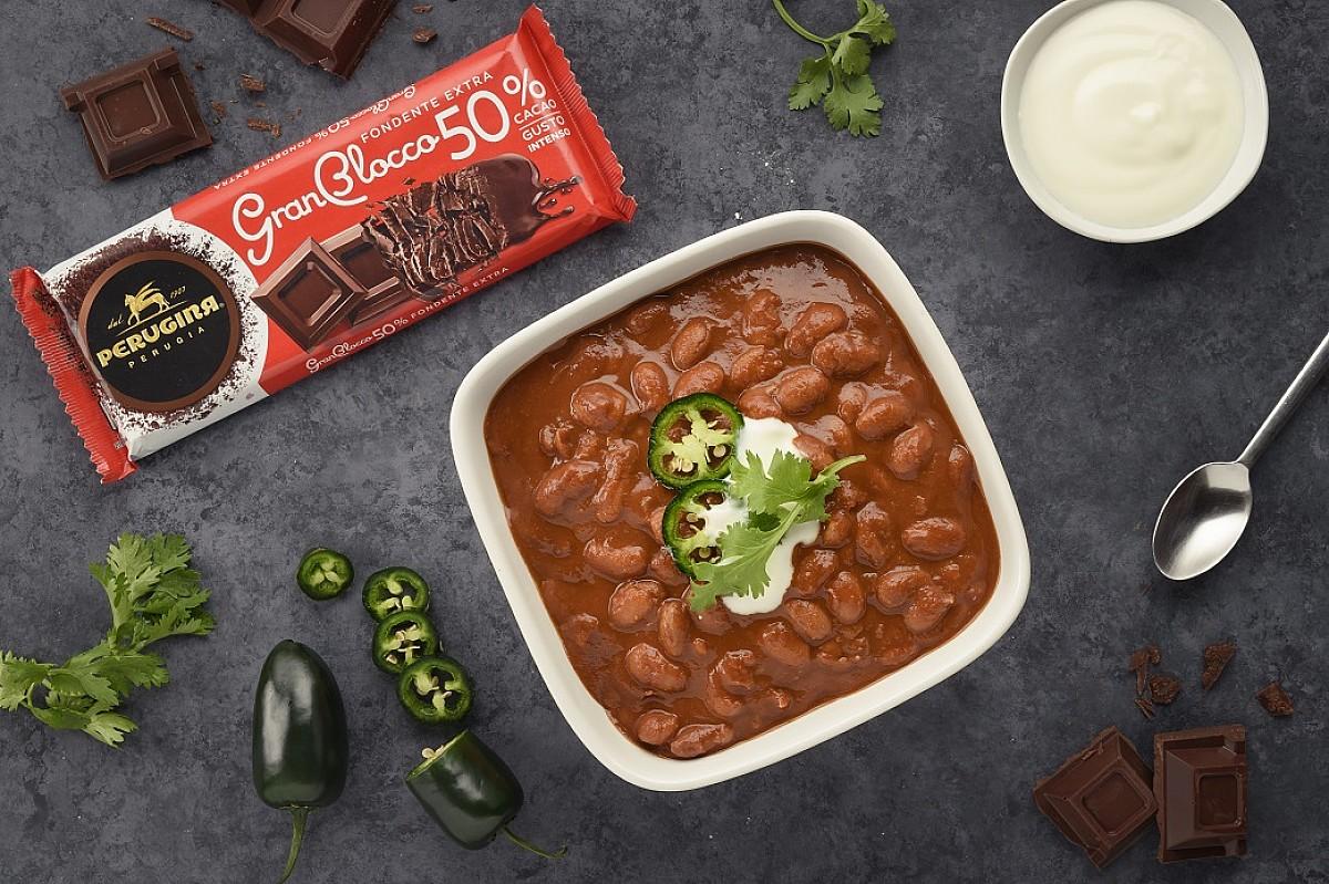 Chili vegetariano al cioccolato Gran Blocco Perugina