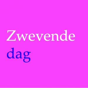 De zwevende dag logo