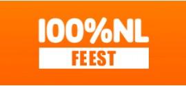100% NL Feest | Live en online naar de stream luisteren