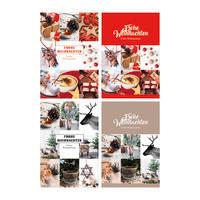 Geschenkkarten Weihnachten sortiert