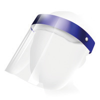 Gesichtsschutzschirm Comfort