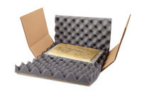 Kreuzverpackung mit Schaumpolster Premium