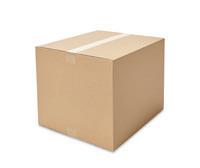 Wellpapp-Faltkartons ECONOMY, Länge 400 bis 449 mm