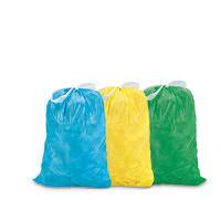 Müllsack mit Zuziehband, farbig