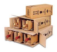 Flaschenkarton Post/DHL/UPS