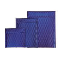 Luftpolster-Geschenktasche dunkelblau
