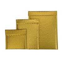 Luftpolster-Geschenktasche gold