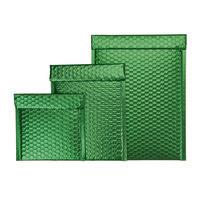 Luftpolster-Geschenktasche grün
