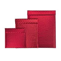 Luftpolster-Geschenktasche rot
