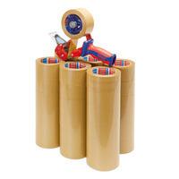 Spar-Set Packband tesa® mit Handabroller