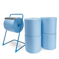 Spar-Set Putzpapier mit Abrollständer