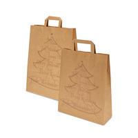 Papiertragetasche, Weihnachtsbaum