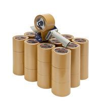 Spar-Set PVC-Packband extrabreit, mit Handabroller
