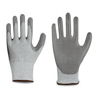 Schnittschutzhandschuhe Spezialfaser, PU, 4542