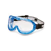 Vollsichtbrille 3M™, indirekt belüftet, Antibeschlag, EN 166/EN 170