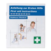 Erste-Hilfe-Broschüre nach BGI 503