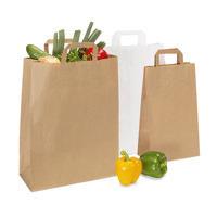 Papiertragetasche für Lebensmittel, Topcraft