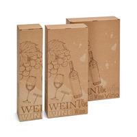 Flaschen-Geschenkfaltschachtel, Wein