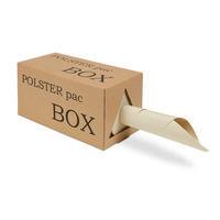 Packpapier aus Graspapier 50 g/m², Lauflänge 250 m, Spendebox
