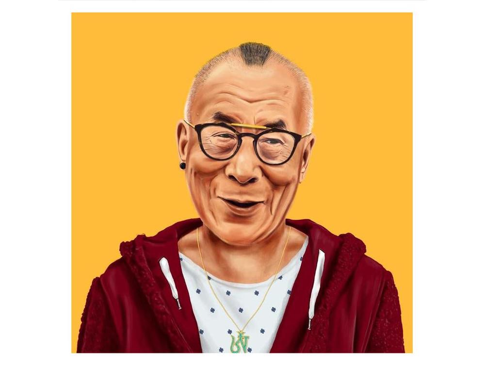 Leinwandbild Dalai Lama