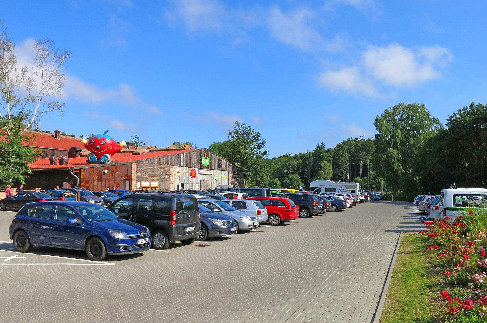 Parkplatz Zirkow