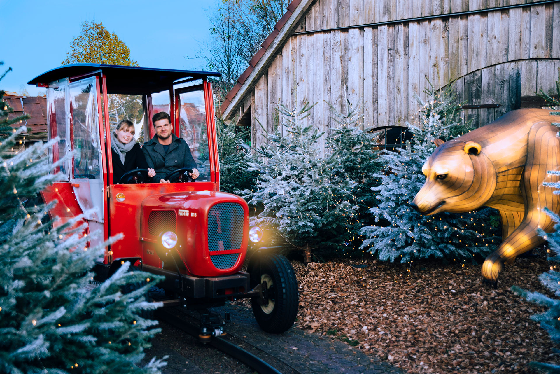 Erlebnisse Winter Traktorbahn