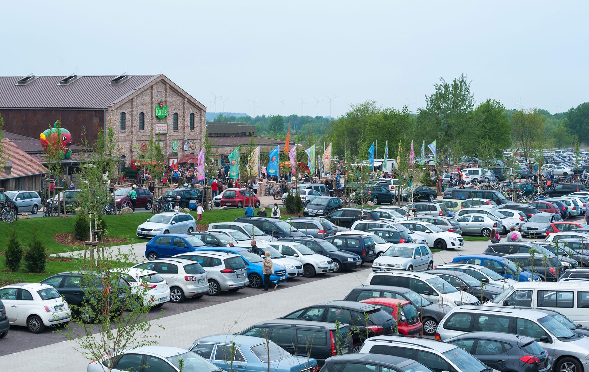 Parkplatz Elstal