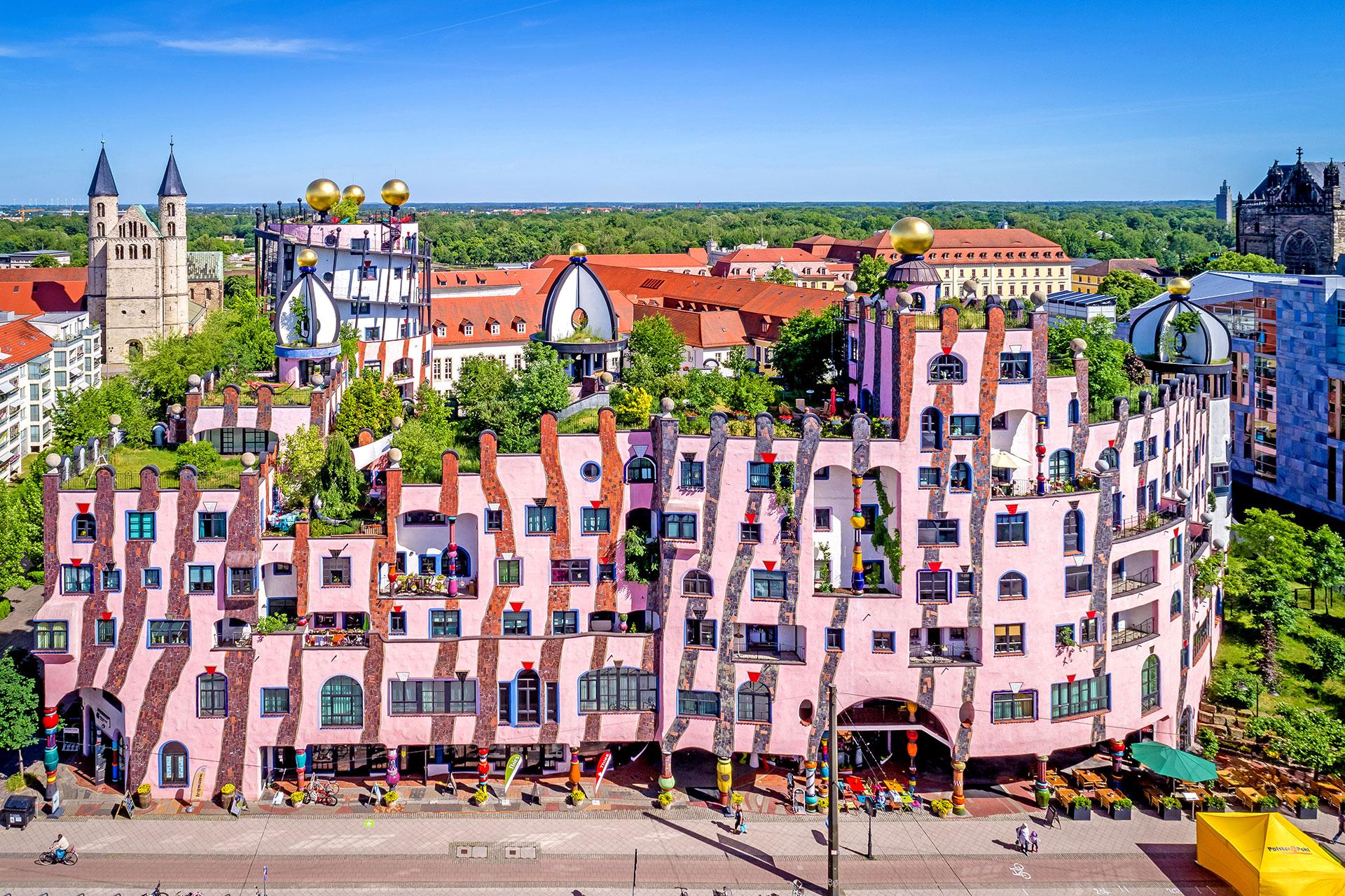 Loburg Umgebung Zitadelle Magdeburg