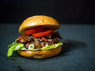 BBQ Hamburger  von Burgerhaus Zweite Heimat in Passau