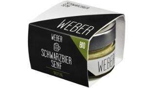 Schwarzbier-Senf Schwarzbiersenf  von Senfmanufaktur Thomas Weber in Vilshofen