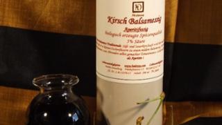 Kirsch-Balsamessig Kirschbalsamessig  von Hedonna - Lebenswürdigkeiten in Ortenburg
