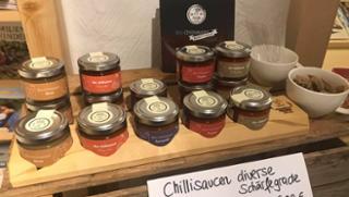 Chili-Sauce Tomate  von DREIMALIG - Grenzenlos Besonders in Freyung