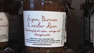 Fruchtaufstrich Feigen, Birnen & Weißer Rum  von DREIMALIG - Grenzenlos Besonders in Freyung