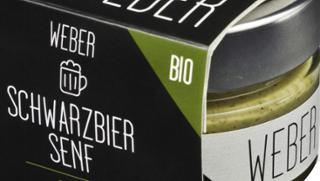 Schwarzbier-Senf Schwarzbiersenf  von Säumerhof Bio-Genusswelt in Grafenau