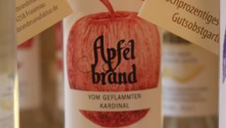Apfelbrand vom Geflammten Kardinal  von Säumerhof Bio-Genusswelt in Grafenau
