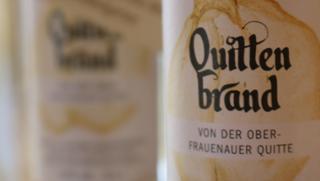 Quittenbrand von der Oberfrauenauer Quitte  von Säumerhof Bio-Genusswelt in Grafenau