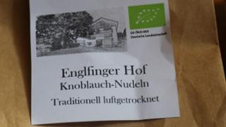 Knoblauchnudeln  von Säumerhof Bio-Genusswelt in Grafenau