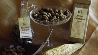 Kakaobohnen (ganz, ganz, karamelisiert in Arenga Palmzucker)  von Hedonna - Lebenswürdigkeiten in Ortenburg