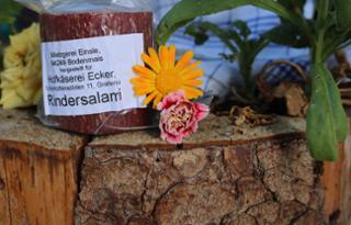 Rindersalami Rindersalami  von Hofkäserei Ecker in Grafenau
