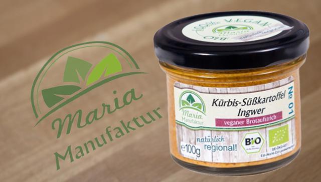 No 01: Kürbis, Süßkartoffeln & Ingwer Süßkartoffelerzeugnis Kürbiserzeugnis Gemüseaufstrich  von Maria Manufaktur in Auerbach