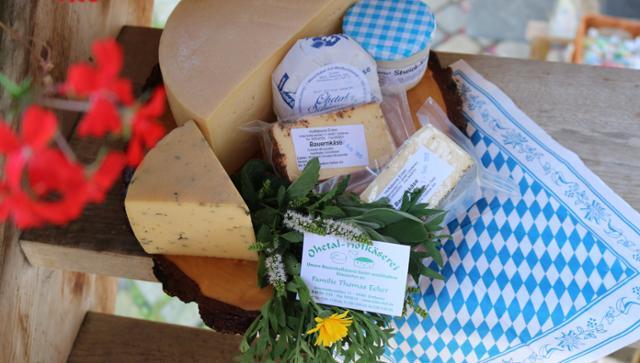 Bauernbutter Butter  von Hofkäserei Ecker in Grafenau