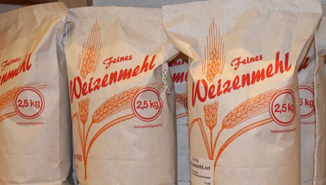 Weizenmehl Type 550 Weizenmehl Type 550  von GRAFMÜHLE - Bioholzofenbäckerei & Biomühle in Thyrnau