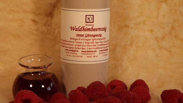 Waldhimbeeressig  von Hedonna - Lebenswürdigkeiten in Ortenburg