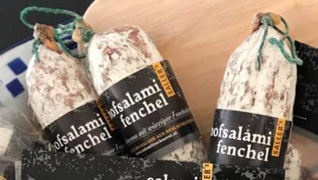 Hofsalami Fenchel  von DREIMALIG - Grenzenlos Besonders in Freyung