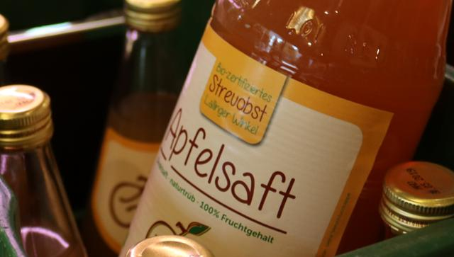 Apfelsaft naturtrüb  von Bio-Feinkost Heubel in Deggendorf